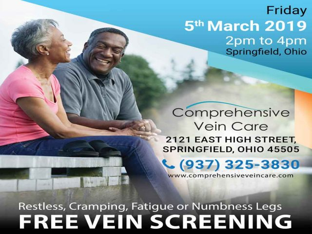 Free Legs Vein Screening